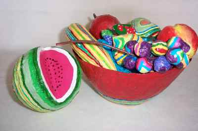 Crazy Fruit Bowl with Mini-Melon
