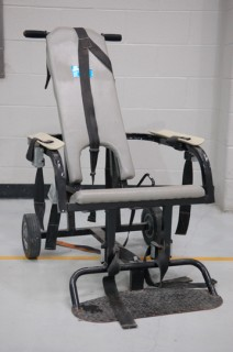 Psychiatry and Abuse: restraint chair in hospital?