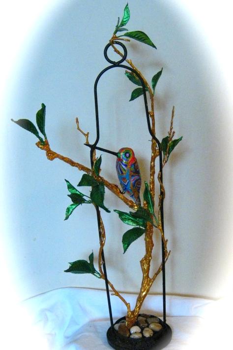 FIRE-FANGLED HUMMINGBIRD