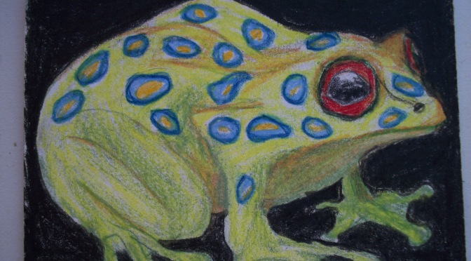 Artist Trading Cards: Egg, Goose, Frog and more…