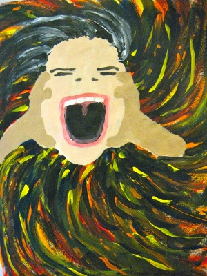 The Scream by Pamwagg © pamela spiro wagner All rights reserved