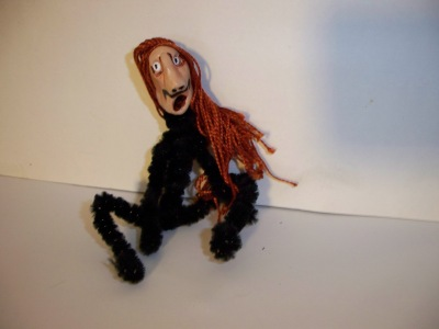Beatnik Bob- therapy puppet/doll from 4-6 inches high, like the others.