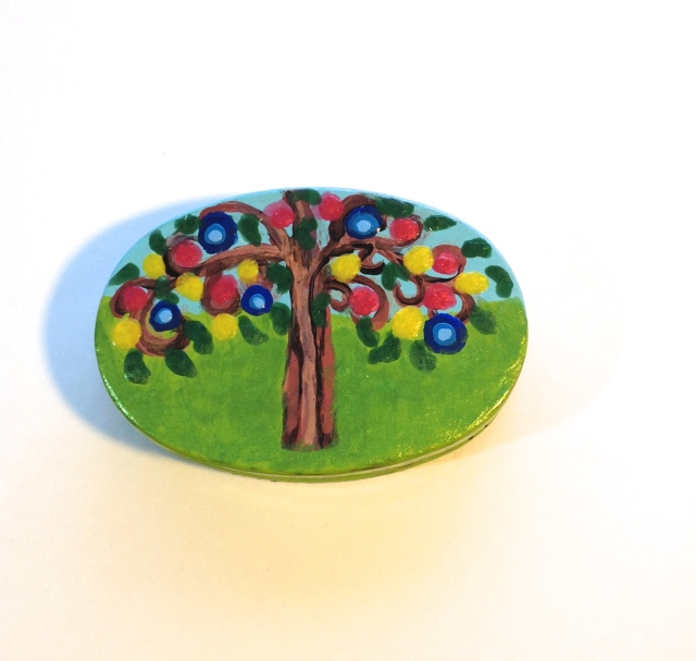 Tree of LIfe (oval tin box)