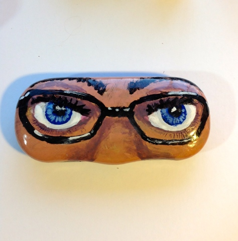 Blue-eyed Eyeglasses Case