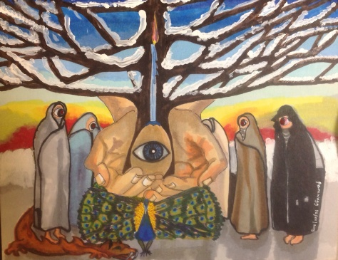 The Watchers and The wimter Tree of Creation