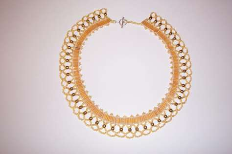Goldlace Netting necklace