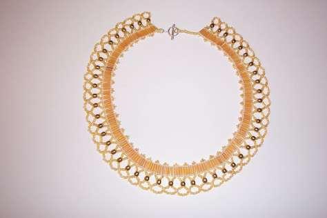 Goldlace Netting necklace