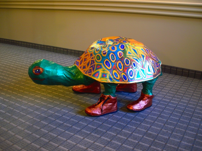 Papier Mache Art and Recovery: An Update on Thanksgiving 2014