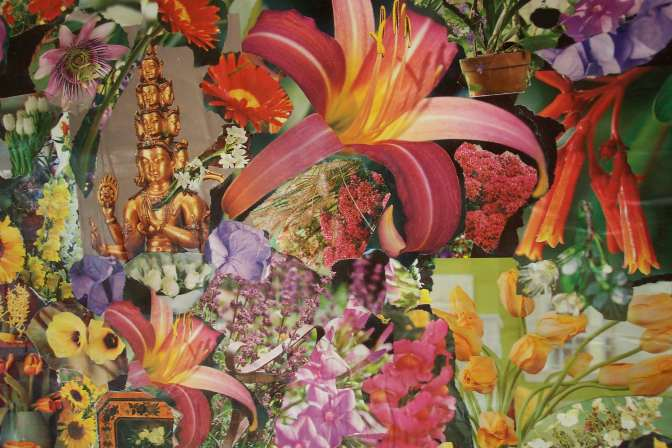 Flowers Collage - Very Early c 2004
