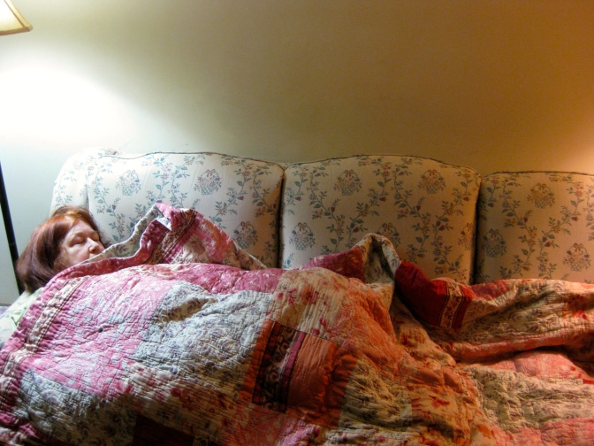 For Sensitive Bodies and Sensory Overload: A Weighted Blanket