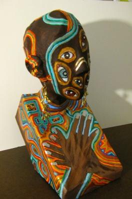 African Queen of Paranoia (reminiscent of Nefertiti)