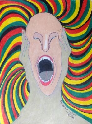 Silent Scream by Pamela Spiro Wagner, 11/2014