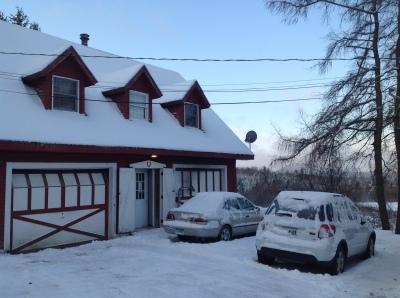 Snow in November at Mt Harmony Farm!
