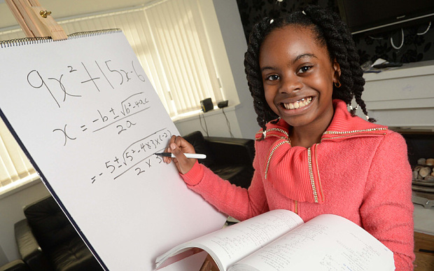 10-Year-Old Nigerian Girl Top in UK University Mathematics!