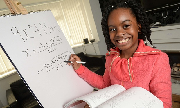 10-Year-Old Nigerian Girl Top in UK University Mathematics!