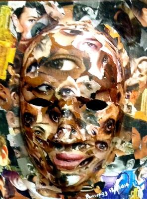 Mask of Eyes Made at the Retreat