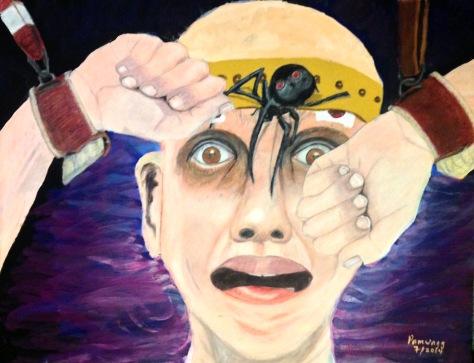 Terrified Patient Having Shock Treatments
