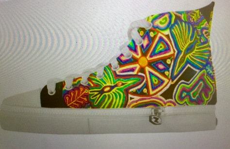 WIld Shoes designed by Pamela SPiro Wagner for Zazzle