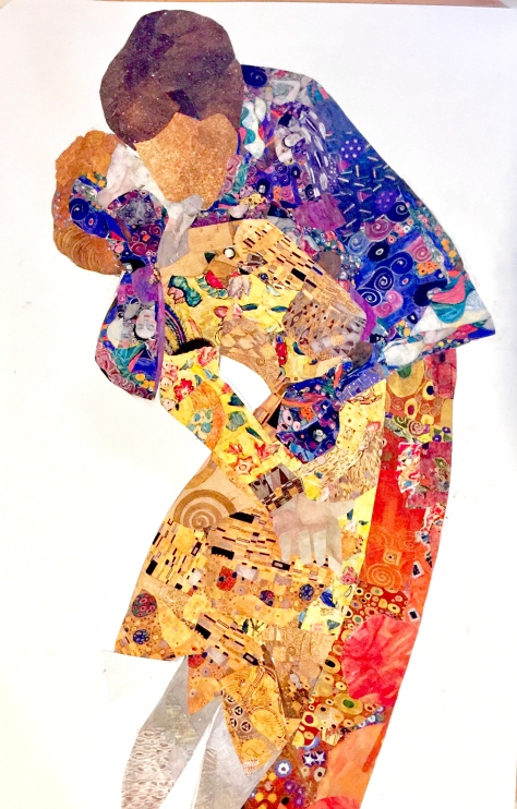 USing Klimt #2: THe Kiss