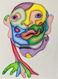 Fractured Portrait #5