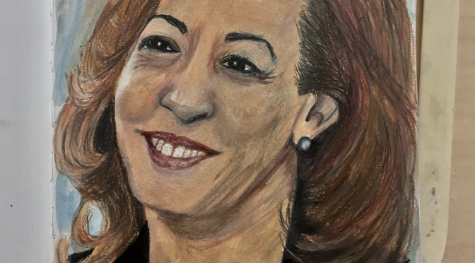 KAMALA HARRIS— PORTRAIT